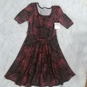 NWT Fall LuLaRoe Nicole Dress XL